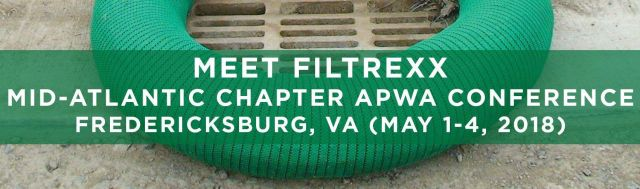 Filtrexx attends 2018 Mid-Atlantic Chapter APWA Conference