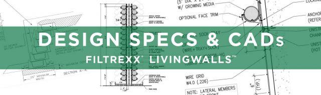 Filtrexx LivingWalls Design Specs & CADs
