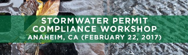 SEMINARS TRWE Stormwater Compliance Anaheim CA