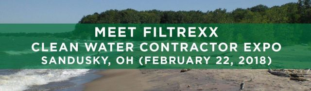 Filtrexx attends 2018 Clean Water Contractor Expo