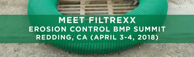 Filtrexx attends 2018 Erosion Control BMP Summit