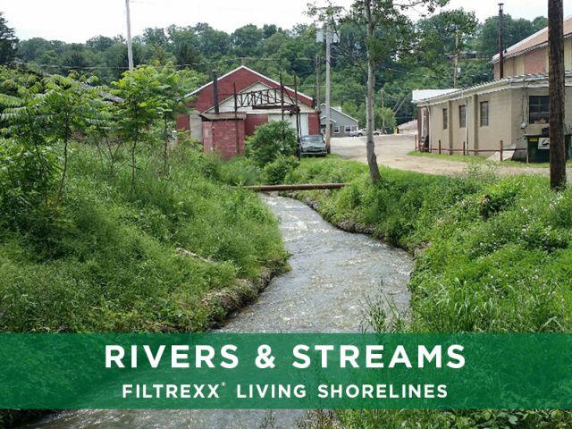 Filtrexx Rivers & Streams Living Shorelines