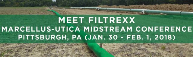 Filtrexx attends 2018 Marcellus-Utica Midstream Conference