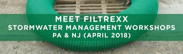 Filtrexx attends 2018 Stormwater Management Workshops