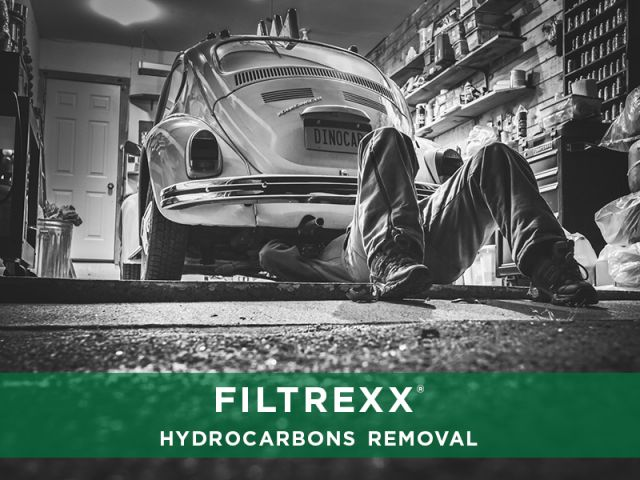 Filtrexx Hydrocarbons Removal