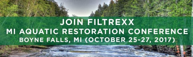 Filtrexx LivingWalls attend 2017Michigan Aquatic Restoration Conference