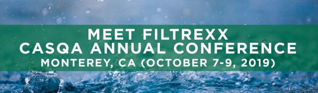 Filtrexx exhibits at 2019 CASQA Conference in Monterey, CA