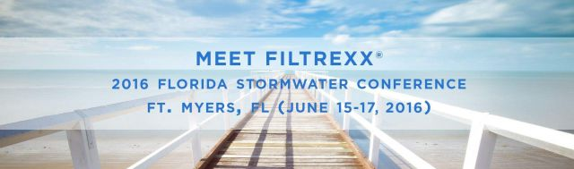 Filtrexx at the 2016 Florida Stormwater Conference