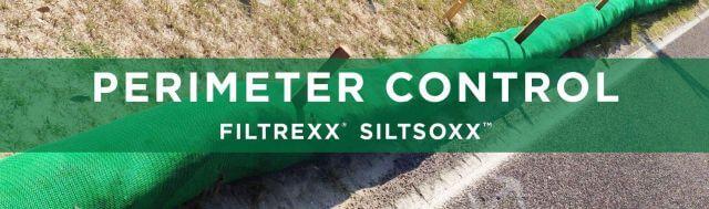Filtrexx Perimeter Control