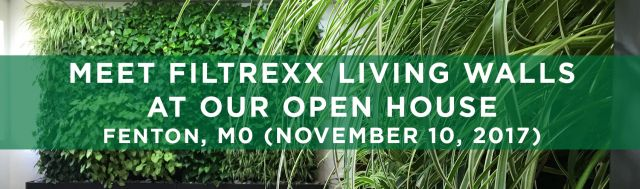 Filtrexx Living Walls Open House Fenton MO