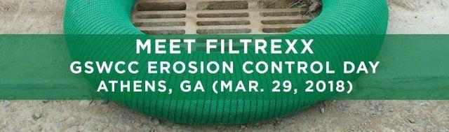 Filtrexx attends 2018 GSWCC Erosion Control Day