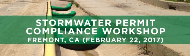 SEMINARS Stormwater Permit Compliance City of Fremont CA