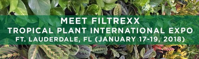 Filtrexx attends 2018 Tropical Plant International Expo