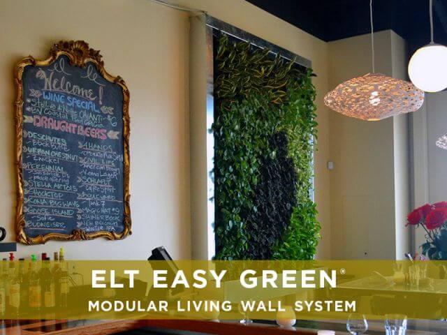 ELT Easy Green Living Wall System