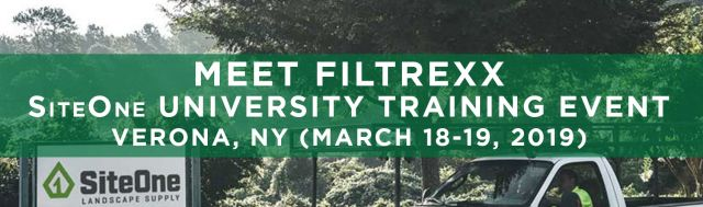 Filtrexx attends 2019 SiteOne University Training Event
