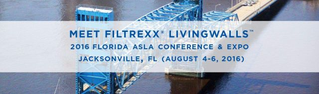 Filtrexx LivingWalls at 2016 Florida ASLA Conference & Expo