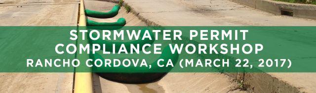SEMINARS Stormwater Permit Compliance Rancho Cordova CA
