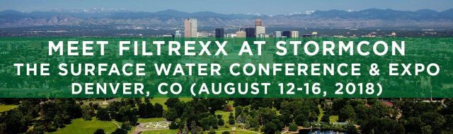 Filtrexx exhibits at 2018 StormCon in Denver, CO
