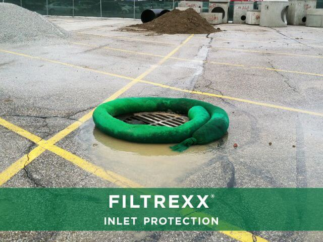 Filtrexx Inlet Protection Sediment Control
