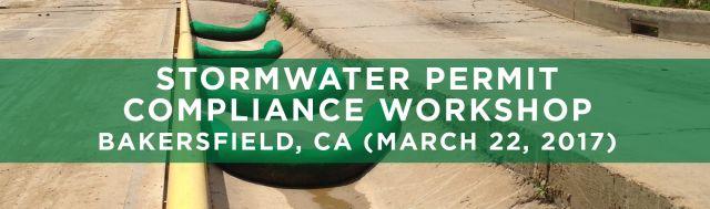SEMINARS Stormwater Permit Compliance Bakersfield CA