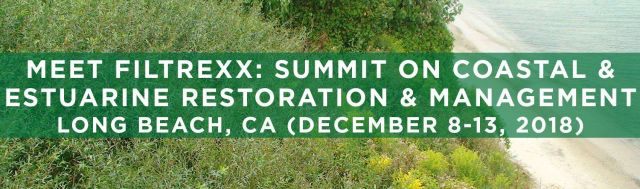 Filtrexx attends 9th National Summit on Coastal and Estuarine Restoration and Management