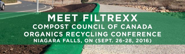 Filtrexx attends 2016 Compost Council of Canada Organics Recycling Conference