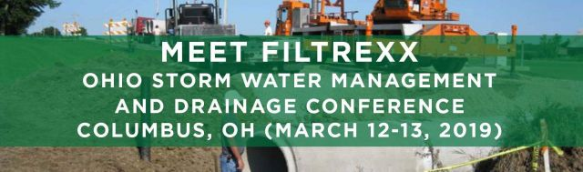 Filtrexx attends 2019 Ohio Storm Water and Drainage Management Conference